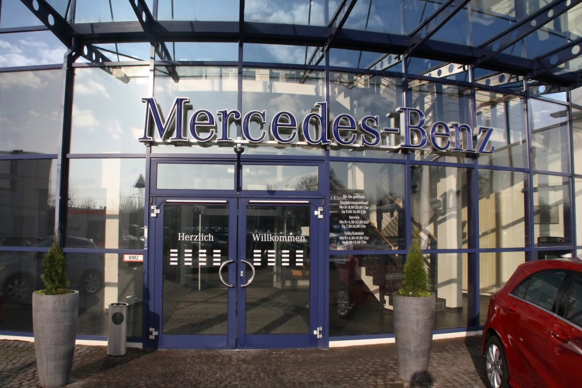 Mercedes Benz Niederlassung Dresden