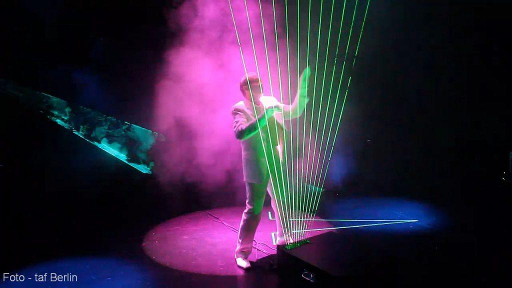 Die Laserharfe – Faszination aus Laserlicht und Musik