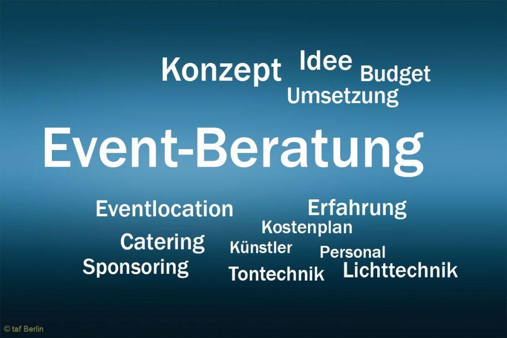 Ratgeber Eventagentur – Eventberatung – Eventplanung